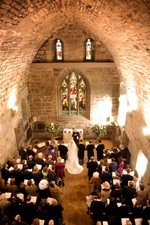picture of wedding ceremony. Click here to view large image (154k)
