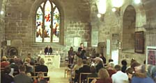 photo of communion service