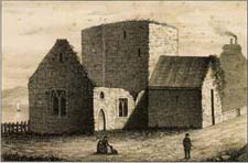 etching of the Church of the Whitefriars